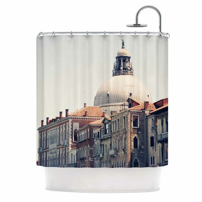 Venice 5 Travel Vintage Shower Curtain