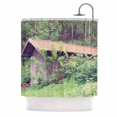 Hidden Nature Shower Curtain