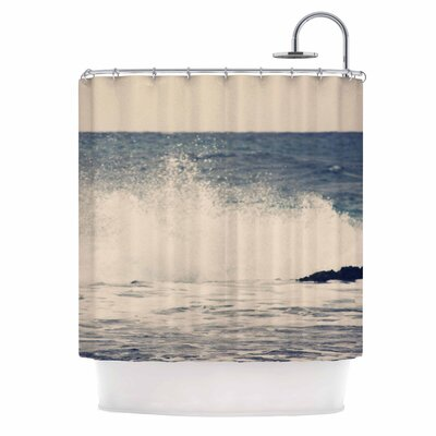 Crashing Waves 2 Coastal Shower Curtain