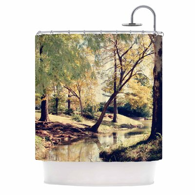 Walk in the Park Photography Shower Curtain