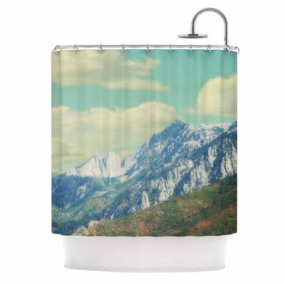 Utah Mountains Nature Shower Curtain