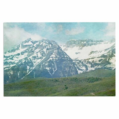 Pastel Mountains Doormat