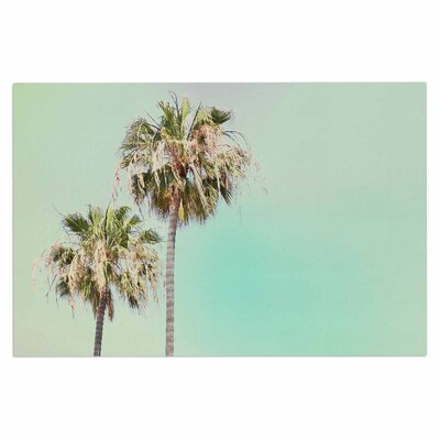 Pastel Palm Trees Doormat