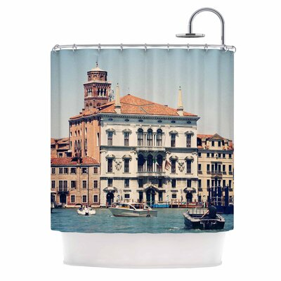Venice 6 Travel Coastal Shower Curtain