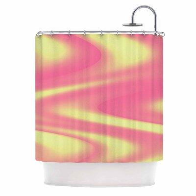 Sherbert Swirl Shower Curtain