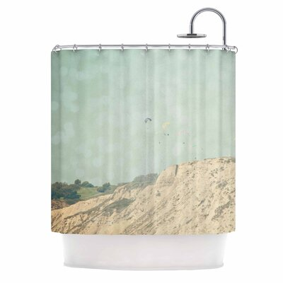 West Coast 2 Coastal Shower Curtain