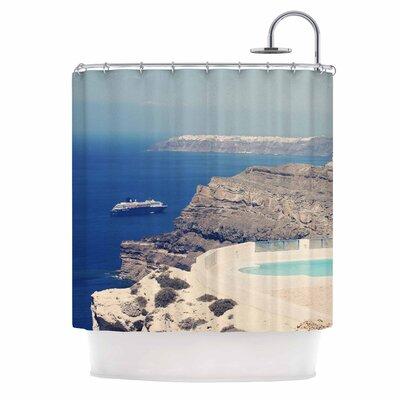 Greek Paradise Shower Curtain
