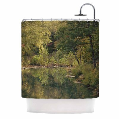 In the Woods 3 Photography Shower Curtain