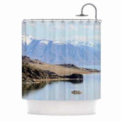 Mountain Reflection Nature Shower Curtain