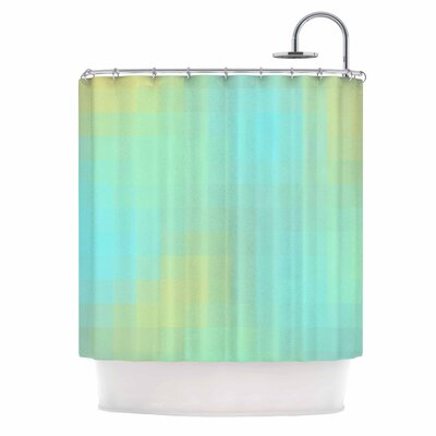 Sea Mosiac Shower Curtain