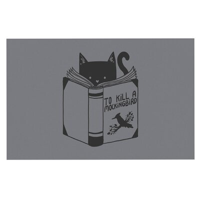 To Kill a Mockingbird Cat Decorative Doormat