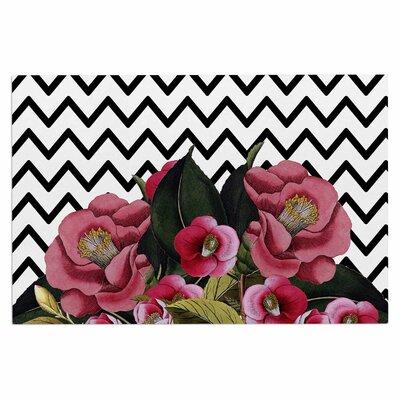 Spring Pattern Chevron Pink Doormat