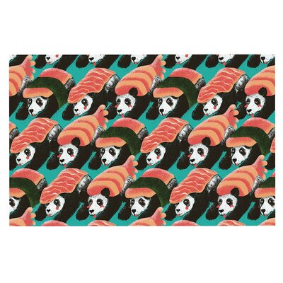 Sushi Panda Doormat