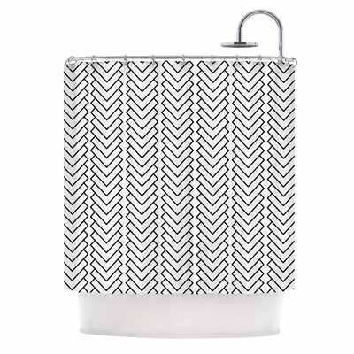 Kamara Chevron Shower Curtain