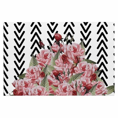 Spring Pattern Arrow Pink Doormat