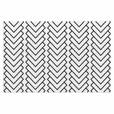 Kamara Chevron Decorative Doormat