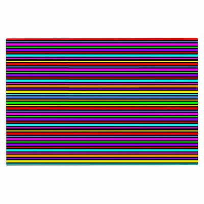Kolor Stripes Decorative Doormat