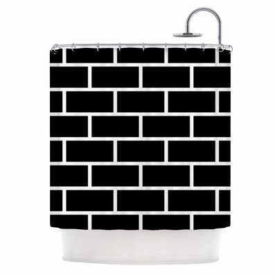 Opeke Digital Shower Curtain
