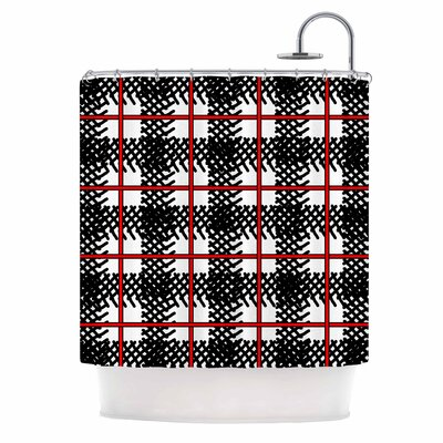Kariran Shower Curtain