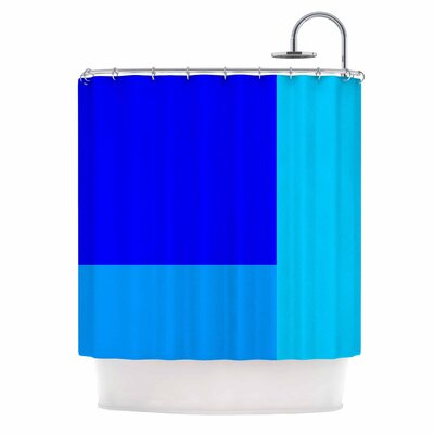 Bluz V.3 Shower Curtain
