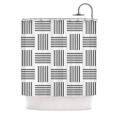 'Postrance' Digital Shower Curtain