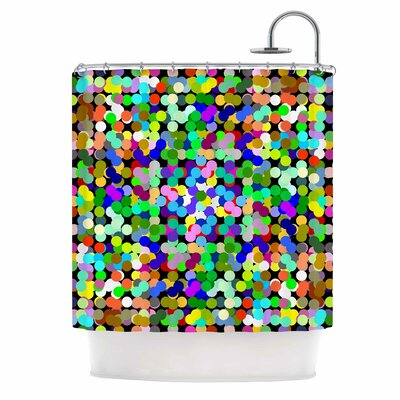 Zumbati Digital Shower Curtain