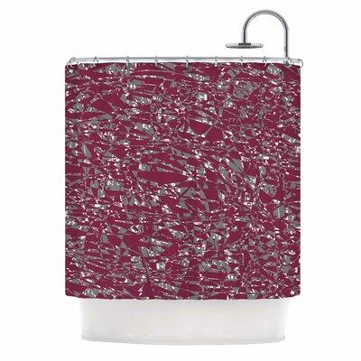 Nenadan V2 Vector Shower Curtain