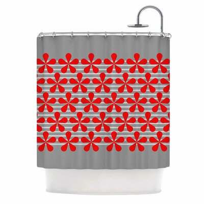 Crvena Shower Curtain