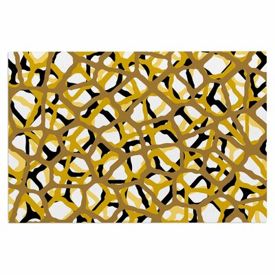 Staklen Doormat Color: Gold/Black