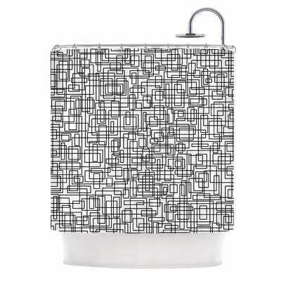 Komada Shower Curtain Color: White