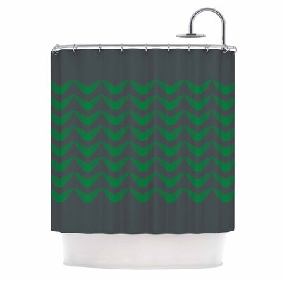 Listati Digital Shower Curtain