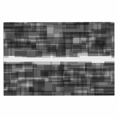 Plima Doormat Color: Black/White