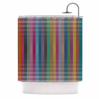 Kolor V3 Digital Vector Shower Curtain