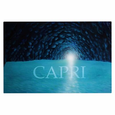 The Blue Grotto of Capri Doormat