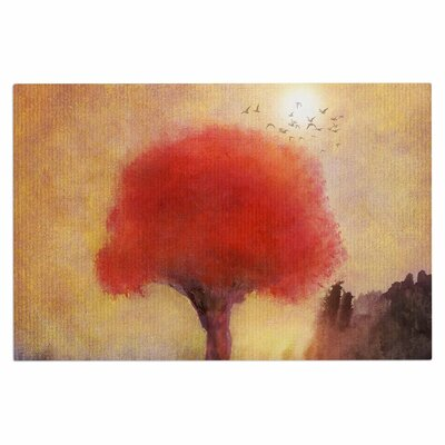 Red Tree Doormat