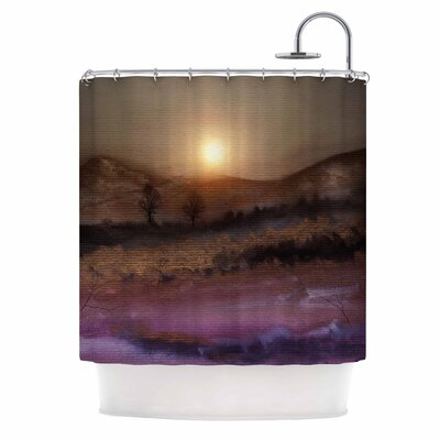 Calling the Sun V Shower Curtain