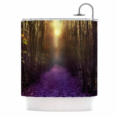 Nostalgia Digital Shower Curtain