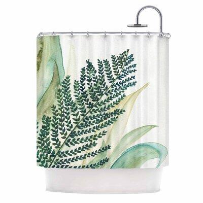 Botanical Vibes 02 Shower Curtain