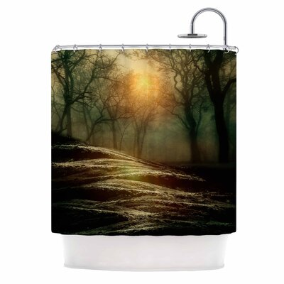 From Small Beginnings and Big Nature Shower Curtain
