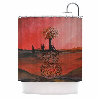 Art Name Shower Curtain
