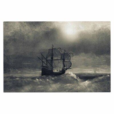 Chapter III Dark Ship Decorative Doormat