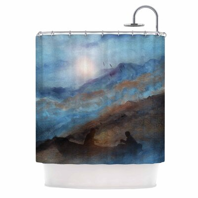 Calling the Sun Vi Shower Curtain