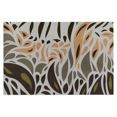 Africa - Abstract Pattern Doormat Color: Gray/Green