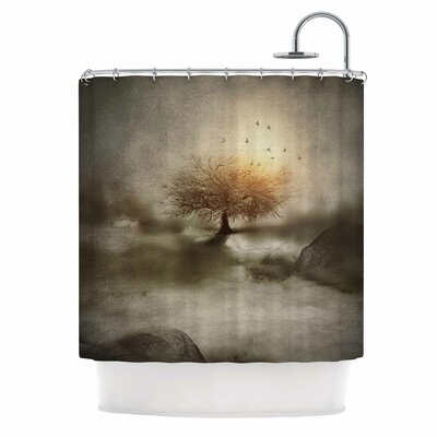 Lone Tree Love Iv Nature Shower Curtain