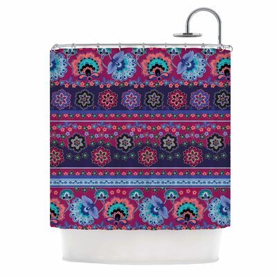 Folcloric Border Shower Curtain