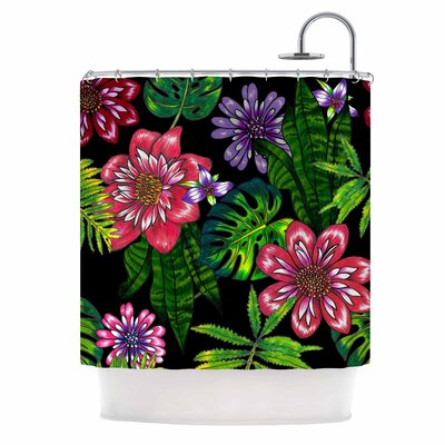 Doodle Tropic Shower Curtain