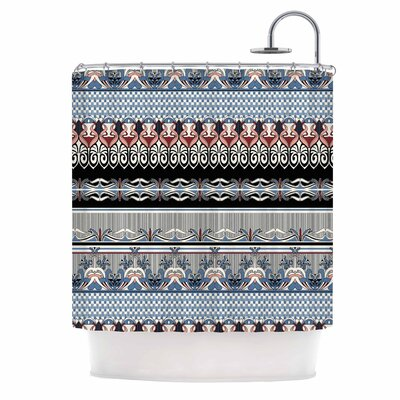 Nouveau Deco Shower Curtain