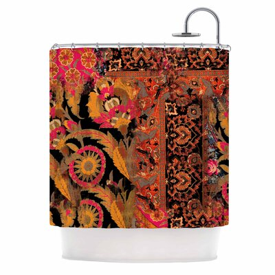 Global Patchwork Digital Shower Curtain