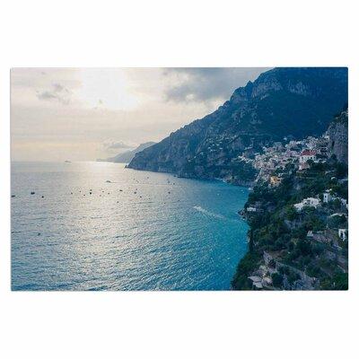 Amalfi Edge Coastal Decorative Doormat