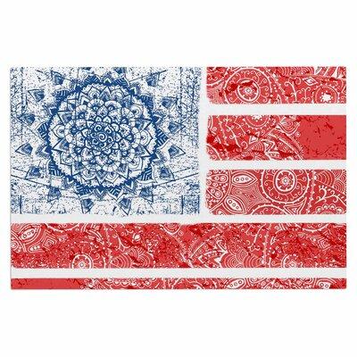 Americana Mandala Flag Doormat